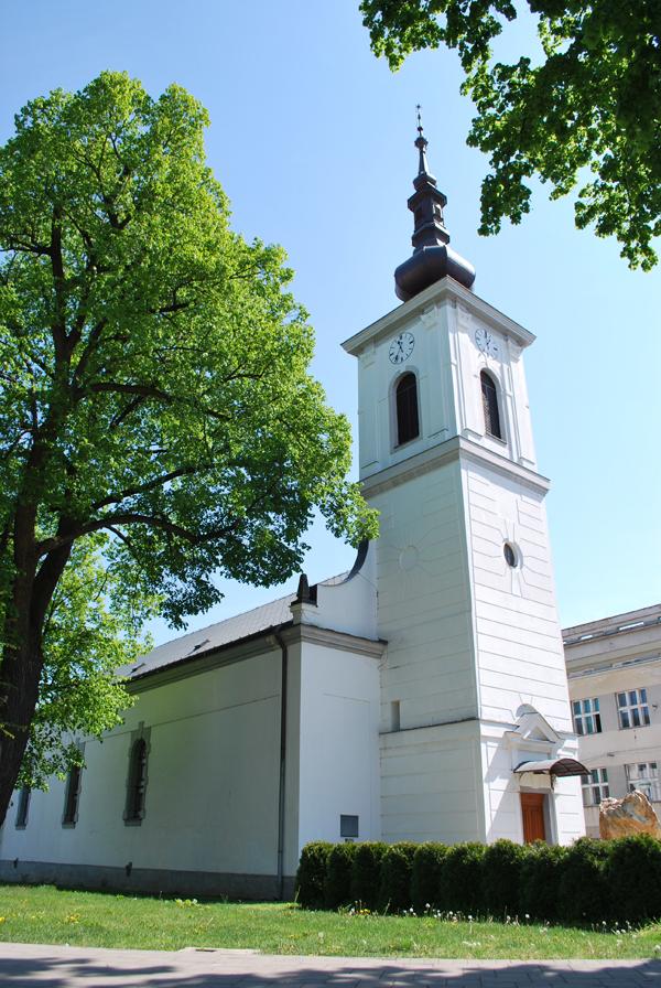 Kalvínsky kostol Levice