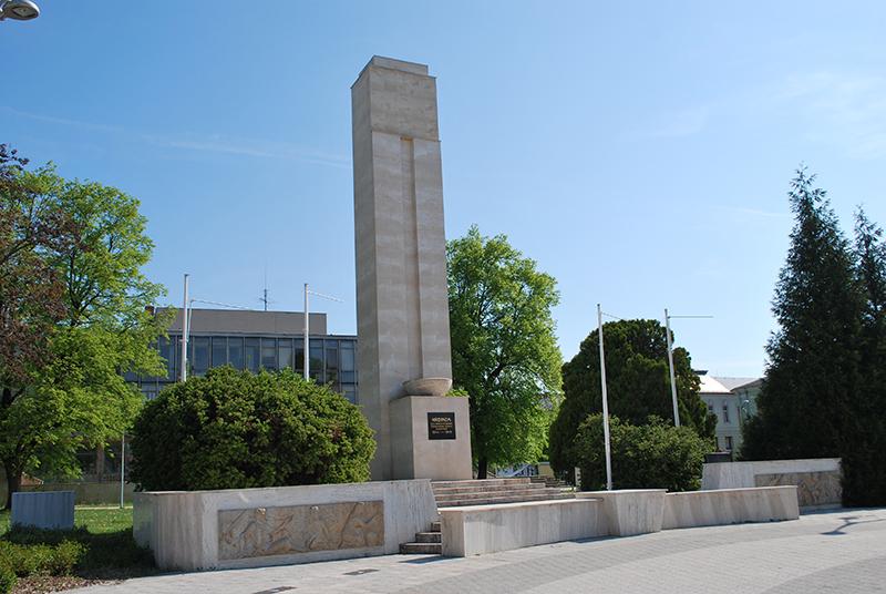 Pomník padlým hrdinom 2. sv. vojny