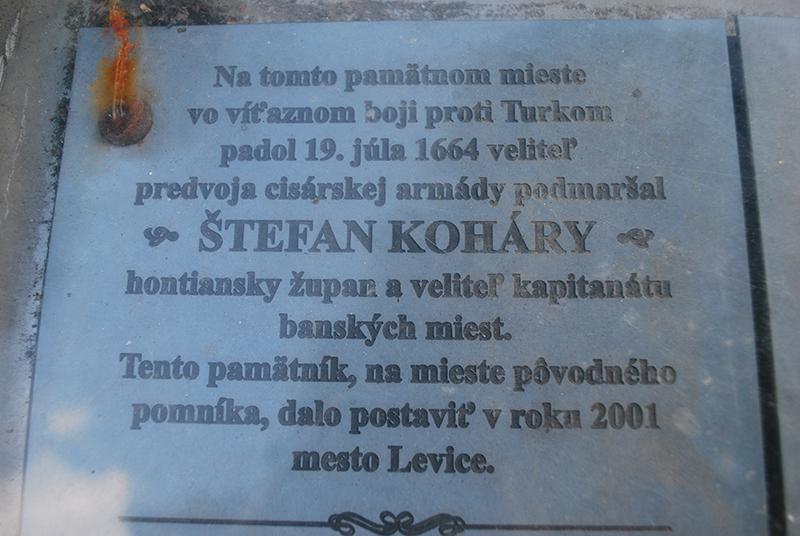 Poník Štefana Koháryho Levice
